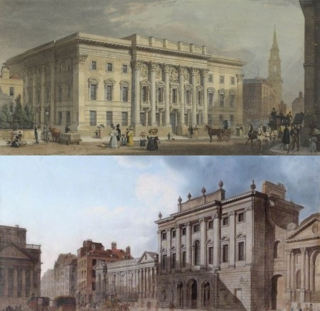 Goldsmiths of London and Bank of England in 17th to 19th century