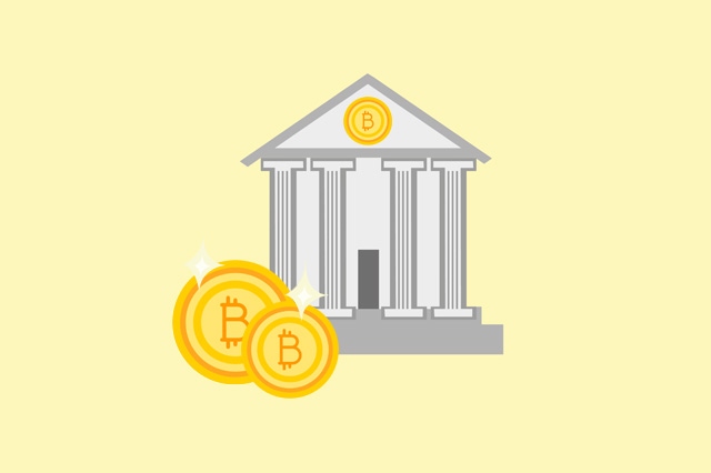 Which banks accept cryptocurrency such as Bitcoin?